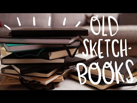 Old sketchbooks tour! ~ Frannerd