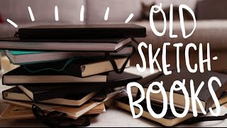 One of Fran Meneses's most viewed videos: Old sketchbooks tour! ~ Frannerd