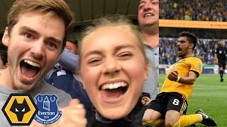 BACK WITH A BANG! Wolves Vs Everton Matchday Vlog! Mp3