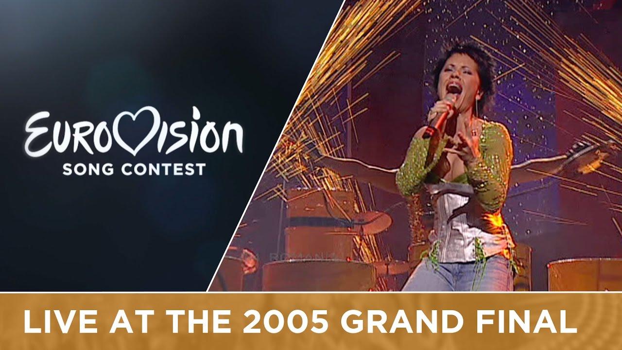 Luminita Anghel & Sistem - Let Me Try (Romania) Live - Eurovision 2005