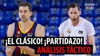 🏀🔝 BARCELONA vs REAL MADRID BALONCESTO: TRISTAN VUKCEVIC, DEBUT DE PAU GASOL, ¡FINAL DE LOCOS!