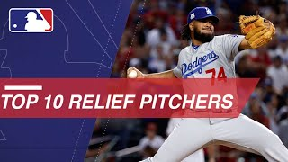 Check out the top 10 relief pitchers in MLB right now