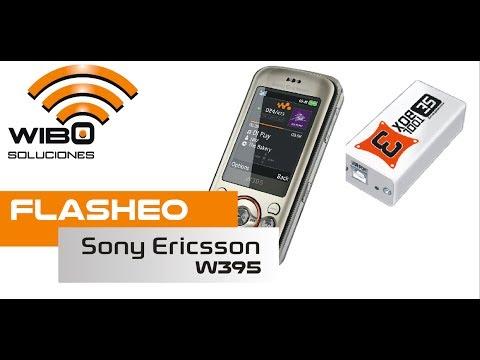 FLASHEO SONY ERICSSON W395 (SEMC ODM) CON SETOOL BOX