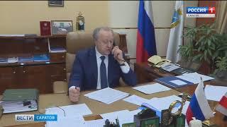 Обстановку в заблокированных снегом районах обсудили по телефону их главы и губернатор области