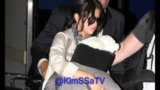 Selena Gomez arriving into LaGuardia Airport in New York City. (June 28. 2011)