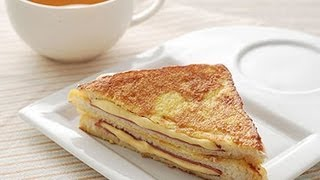 (楊桃美食網) 法式起司火腿三明治