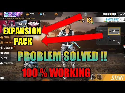DOWNLOAD EXPANSION PACK DAILY PROBLEM FIX IN FREE FIRE || 100% WORKING ||  TELUGU GAMING SOURCE ||