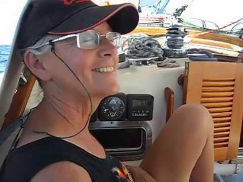Sailing from the Tuamotus