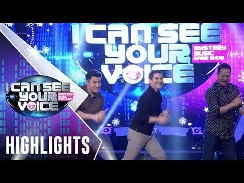 I Can See Your Voice PH: Edu, ipinakita ang signature moves with Luis at Bayani