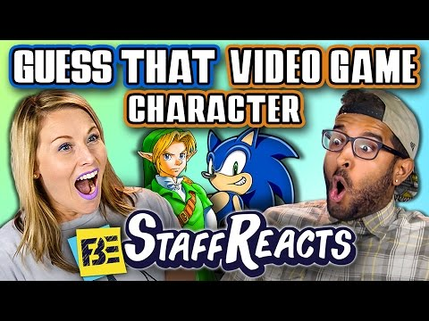 GUESS THAT VIDEO GAME CHARACTER CHALLENGE! (ft. FBE STAFF)