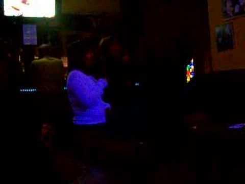 Karaoke in Leipzig 2006