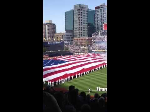 Opening day San Diego Padres 2012
