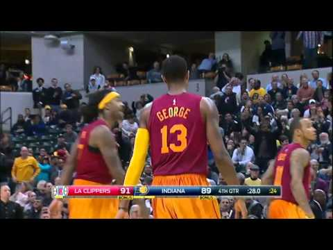 Los Angeles Clippers vs Indiana Pacers | January 26, 2016 | NBA 2015-16 Season