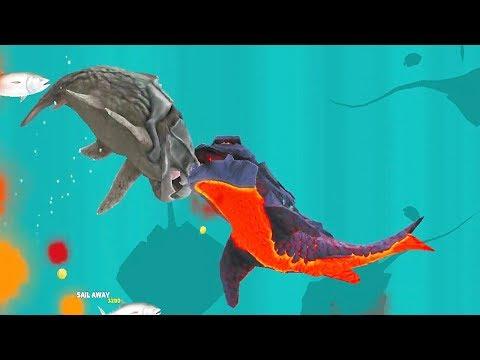 Hungry Shark Evolution Pyro Shark Android Gameplay #27