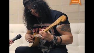 Barbara Kolar i Slash uoči koncerta u Zagrebu