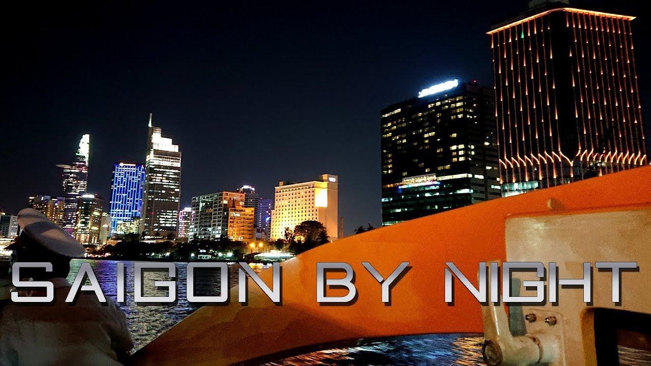 Saigon by Night : Saigon Center – Vinhomes Central Park – Landmark 81   Saigon Waterbus