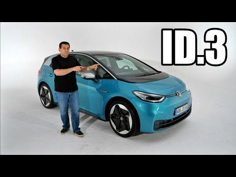 2020 Volkswagen ID.3 - Interior and Exterior Without Camouflage (ENG) - World Premiere