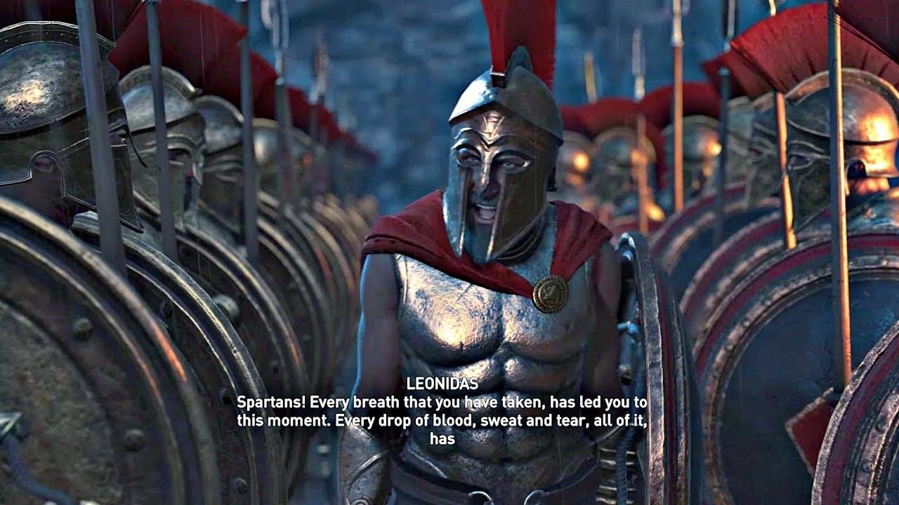 Assassin S Creed Odyssey All Leonidas 300 Spartans Cutscenes