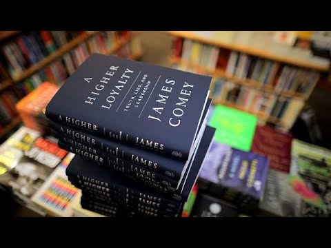Comey book goes on sale