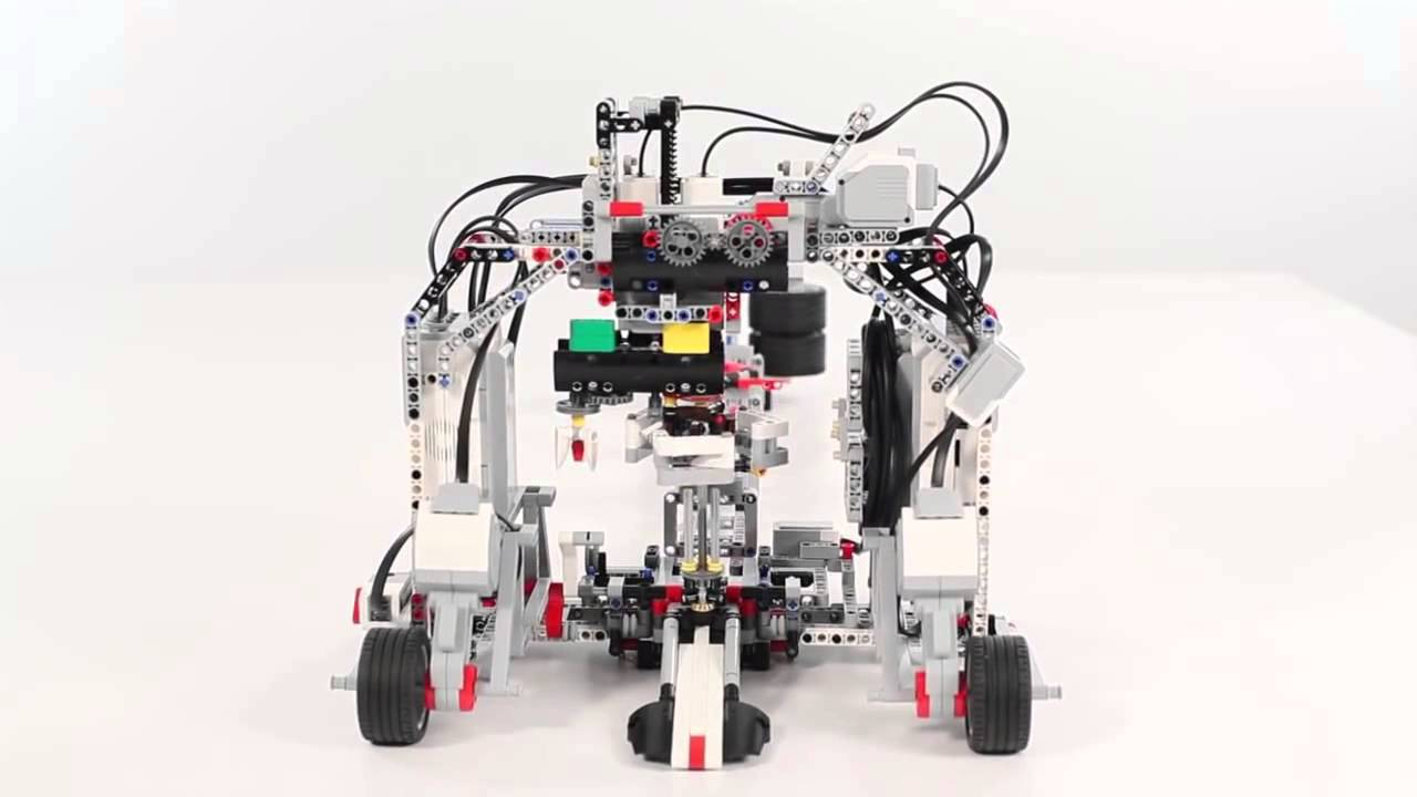 LEGO® MINDSTORMS® Education EV3 Spinning Top Factory - YouTube