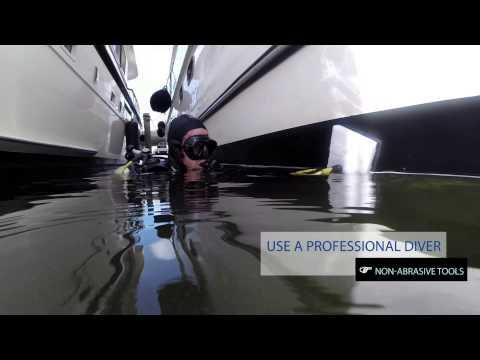 Yacht Management: Bottom Cleaning Maintenance