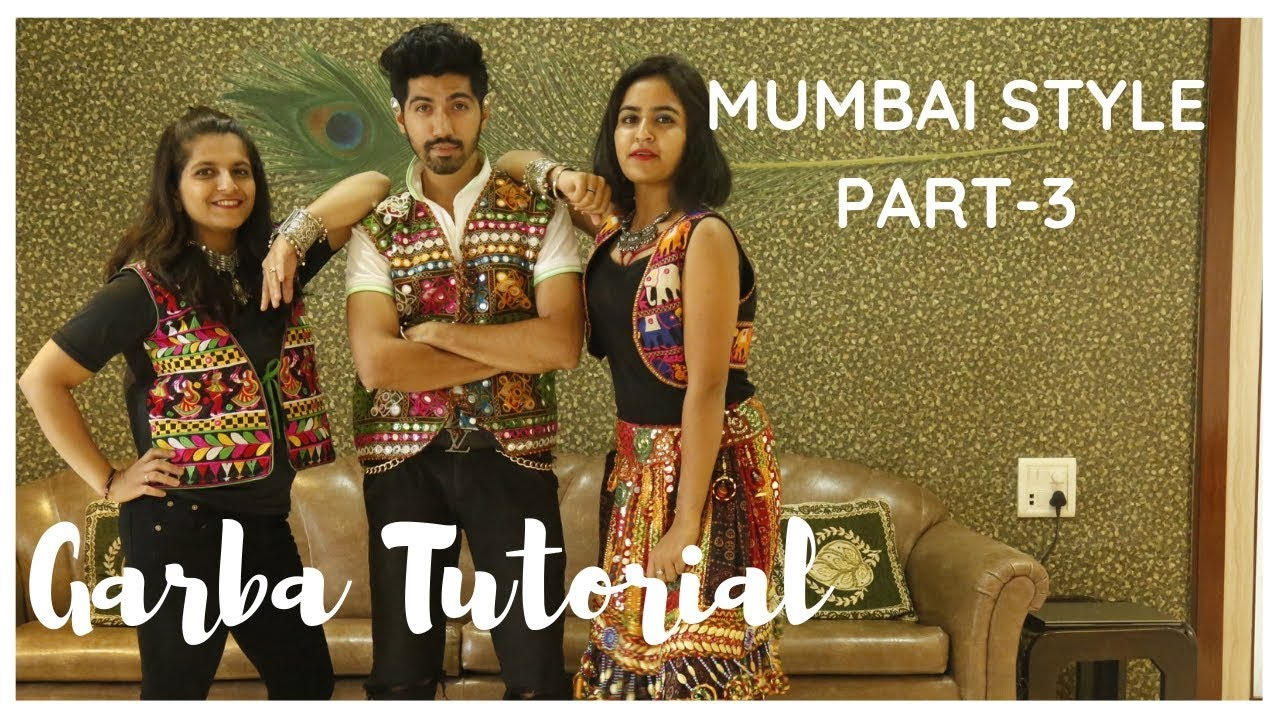 Garba Tutorial Video   Garba Steps Video   Learn Garba   Mumbai Style   Jenish Doshi   Part-3