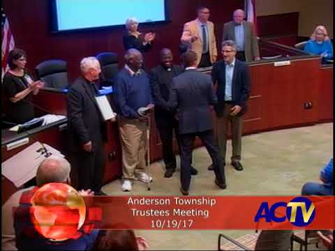 Anderson Township Trustees Meeting 10/19/17