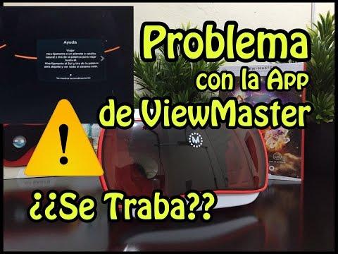 Se traba la aplicacion de ViewMaster???