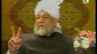 Liqa Ma'al Arab 7 December 1994 Question/Answer English/Arabic Islam Ahmadiyya