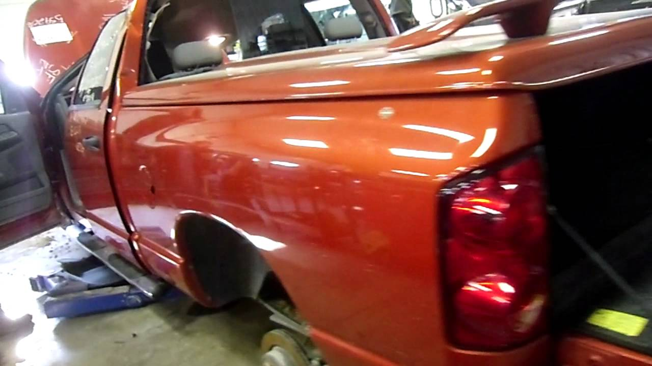 Dodge Truck Salvage Yards >> 11h0724 2008 Dodge Ram 1500 Big Horn Edition 5 7 A T 4x4 33823 Miles Morrison S Auto Salvage Yard