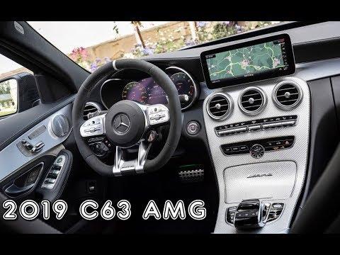 2019 Mercedes Amg C63 Fantastic Interior Youtube