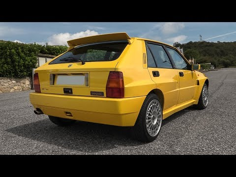 Lancia Delta HF Integrale Evoluzione II (Evo 2): Accelerations & Stock Exhaust/Engine Sound