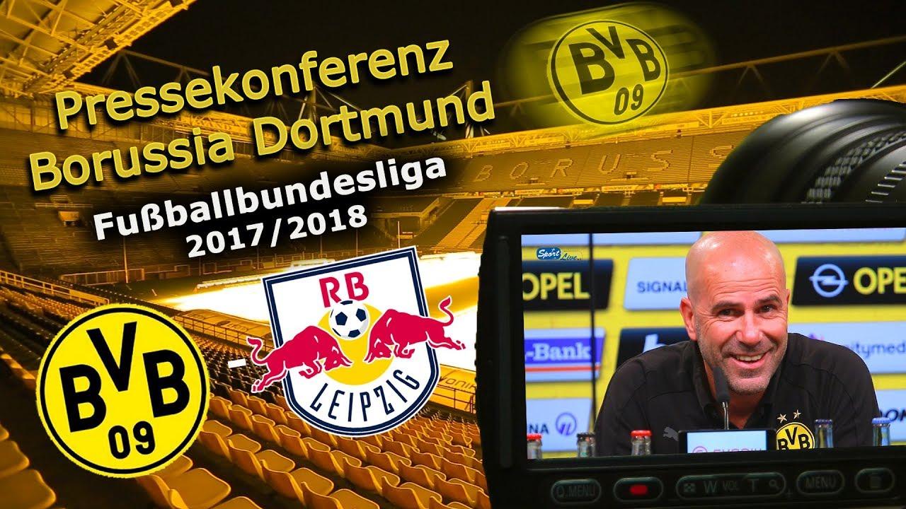 Borussia Dortmund - RB Leipzig: Pk mit Peter Bosz