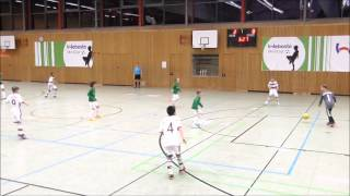 U10 FC Augsburg - FC Bayern München 2:1 FINALE Webasto Mini Cup 2015
