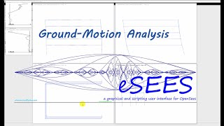 Ground-Motion Analysis in #OpenSees using eSEES