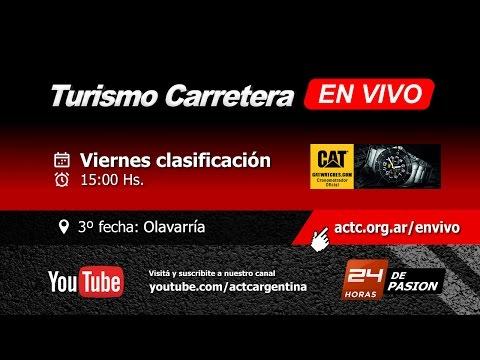 03-2017) Olavarría: Viernes Clasificación TC