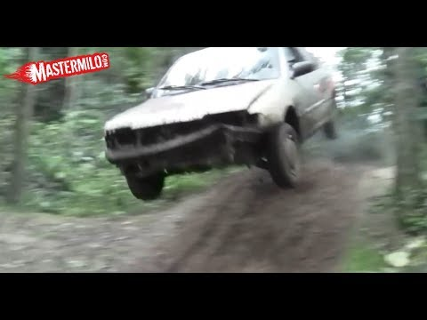 Nissan Primera 1.6 EXTREME offroad test!