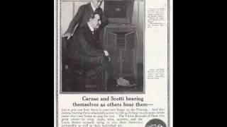 Enrico Caruso & Antonio Scotti - Don Carlo : Dio che nell