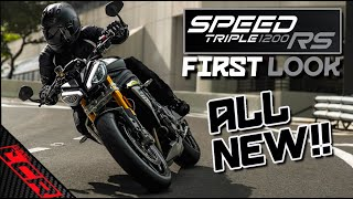 Triumph Speed Triple 1200 RS IS HERE!! | First Look \u0026 Specs