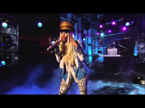 Nicki Minaj - Va Va Voom und Freedom Live
