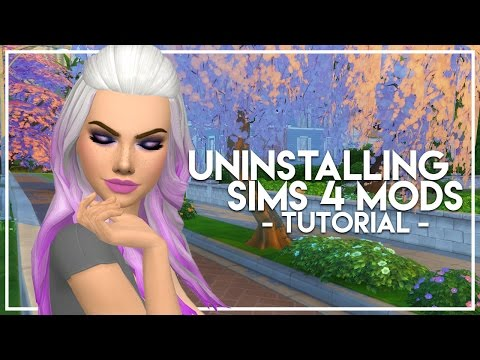 The Sims 4: How To Easily Uninstall CC | Cleaning Out My Mods Folder