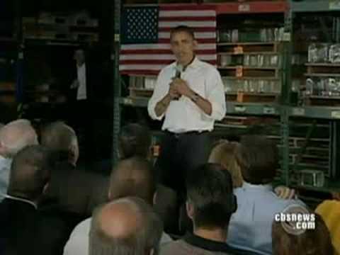 Obama Slams McCain On Economy
