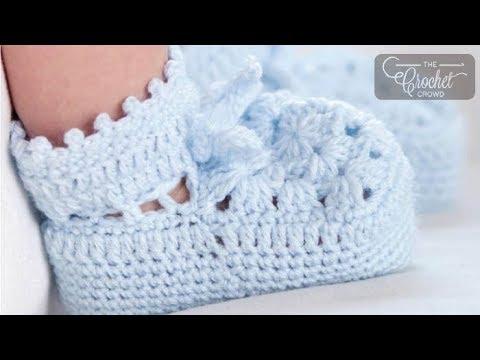 How to Crochet Booties: Vintage Booties
