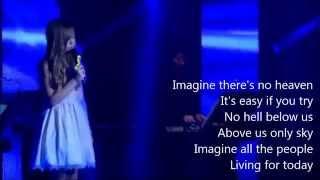 Connie Talbot - Imagine (Karaoke/Instrumental)