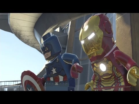 LEGO Marvel Super Heroes Part 20 - Iron Man New Suit Swag ...