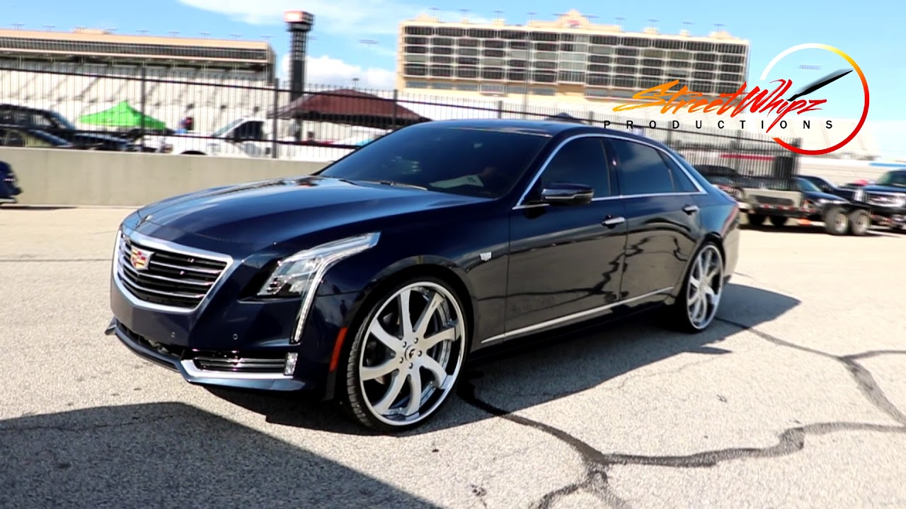 GMC DENALI HD WITH MATCHING NEW CADDY ON FORGIATOS - YouTube