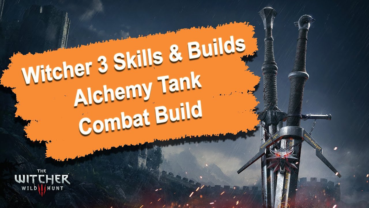 Witcher  Alchemy Combat Build