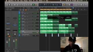 iiGotProduct Makes A Beat Live From Scratch using Logic Pro X