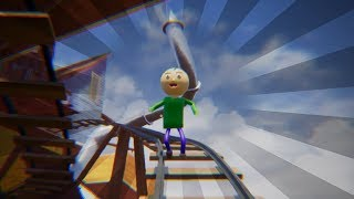 Hello Neighbor Baldi on Train Track