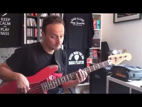 Ain't Nobody Home - B.B. King -  Bass Cover - Pino Palladino Bassline